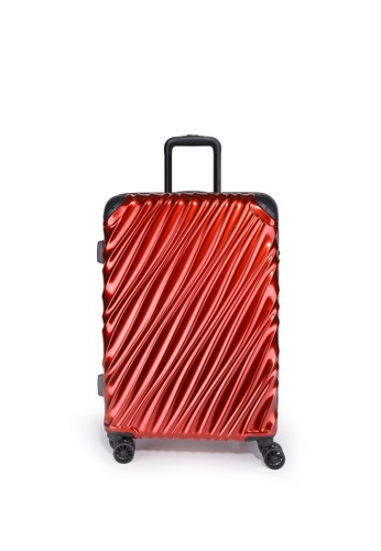"Valentino Creations red Venus Luggage 24"" 8A726AC6AFF0B5GS_1"