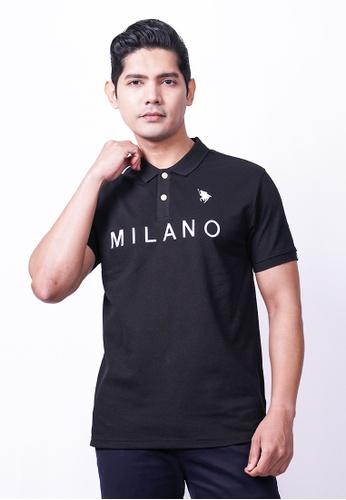 MILANO black Milano Polo Short Sleeve 07429AAE9B25CDGS_1