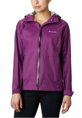 Columbia pink Women's Evapouration Jacket 79E16AA8BC3C27GS_1