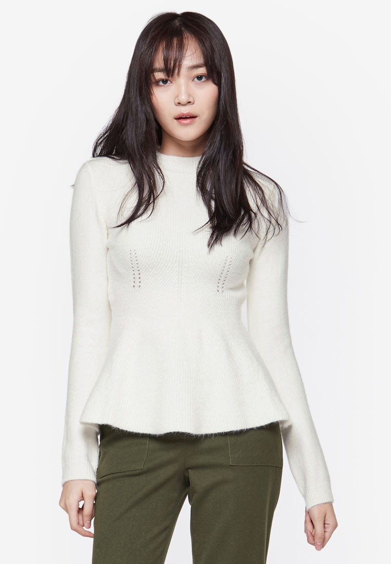 Fit and Flare Knit Top