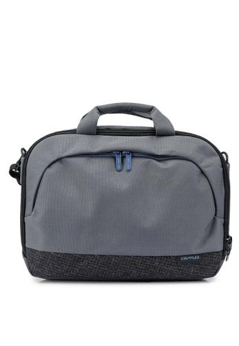 CRUMPLER grey Mantra Briefcase Bag 072E7ACCA17CACGS_1