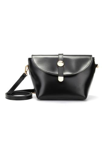 Lara black Women's Black Trendy Crossbody bag 637BCAC8CD334BGS_1