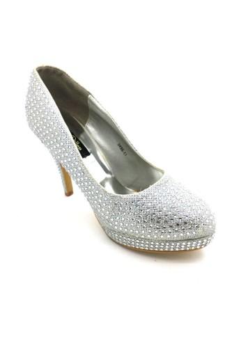 ED Swarovski Heels 3498-13 Silver