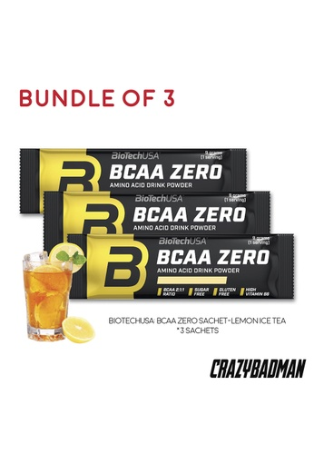 BioTechUSA [Bundle of 3] BCAA Zero 9g - Lemon Ice Tea 9E2A8ES9CDC050GS_1