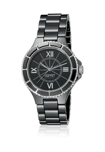Esprit black Esprit ESEL101322F02 Isis Pure Black  Ceramic Ladies 82E2BAC7C74D9BGS_1