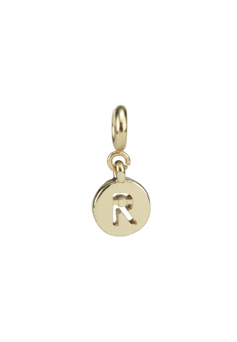 My Flash Trash gold Gold letter charm r 2C074ACEE7A8E1GS_1