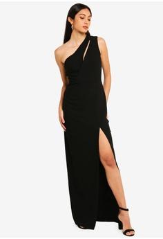 3a0d346389c 15% OFF Vesper Vesper Julianna One Shoulder Maxi Dress RM 329.00 NOW RM  279.90 Sizes 10 12 14