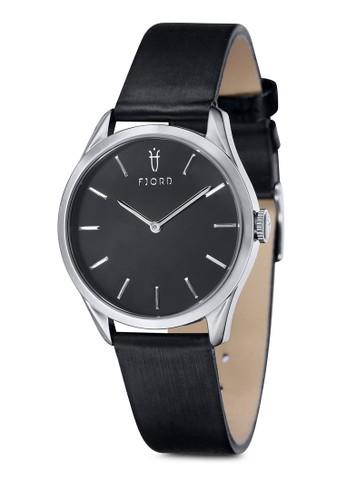 Vzalora 手錶ENDELA 雙指針皮革錶, 錶類, 依錶帶類型選購