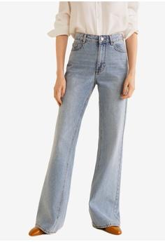 31096aeb5e Mango blue Decorative Seam Flared Jeans 3580CAAE9752C9GS 1