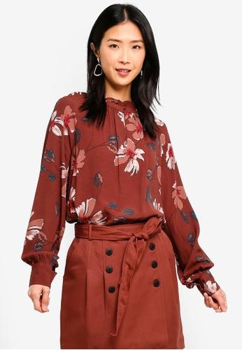 55413418 Buy Vero Moda Isla Long Sleeve Top   ZALORA HK
