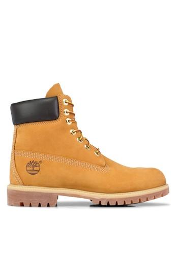 "Timberland 褐色 Timberland Men's Icon 6\ Premium 經典Boots"""""""""""" TI063SH65PZMMY_1"
