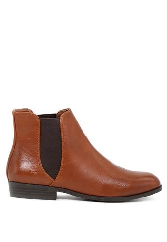 London Rag 褐色 棕色短靴 SH1693 8D9D9SH263EE55GS_1