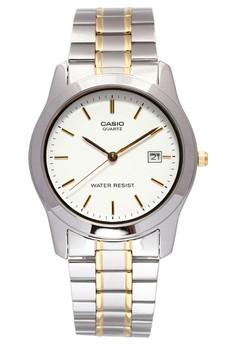 harga Casio Round Watch Man Analog MTP-1141G-7A Zalora.co.id