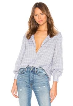 89c656d533b0ce Lovers + Friends blue Jourdan Button Up Shirt 0287EAA4501E43GS 1