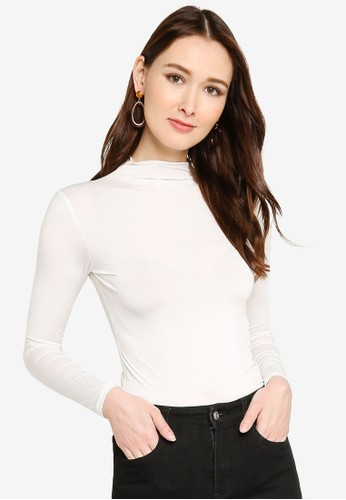 UMMA white Bodee High Neck Long Sleeves Inner F1233AA9F93C3BGS_1