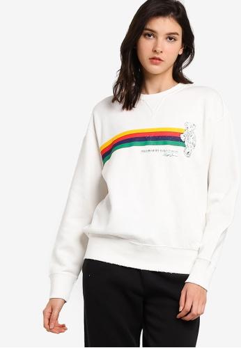 polo ralph lauren white Long Sleeve Novelty Bear Crewneck Sweatshirt A9A70AA8A4E825GS_1