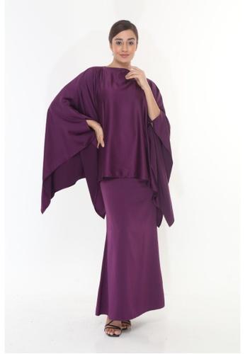 Amar Amran purple Baju Kurung  Kaftan Kaulawa 94DF8AADC196FDGS_1