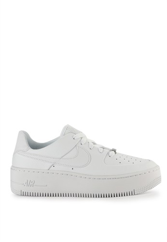 755953be192bd Nike white Nike Air Force 1 Sage Low Shoes E00EESH9F952C2GS 1