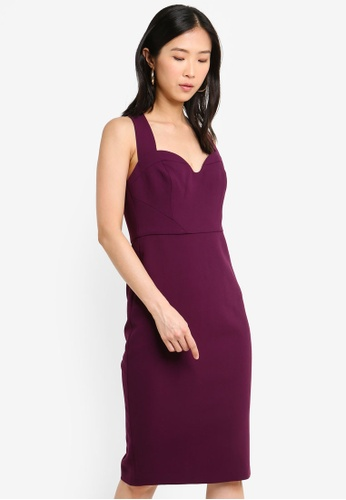e7e0c6982fcf Buy Forever New Sweetheart Bodycon Dress Online on ZALORA Singapore