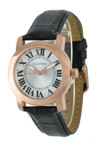 EGLANTINE gold EGLANTINE® Emile Unisex Rose Gold Plated Steel Quartz Watch on Leather Strap 788E0AC6EB9605GS_1