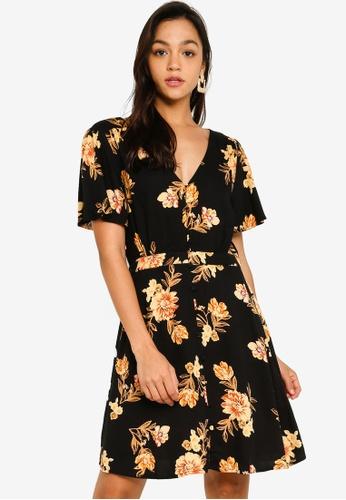 Mink Pink black New Day Mini Dress 18088AA0FAC192GS_1