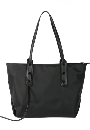 Halo black OL Big Tote Bag B70D7AC0B8F761GS_1