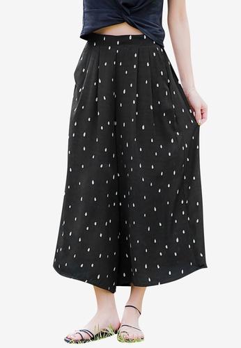 Tokichoi black Spot Wide Legged Pants 11CEBAA9A975EFGS_1