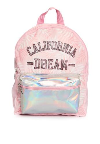 LC Waikiki pink Girl Hologram Detailed Backpack 7560AKC2E2B279GS_1