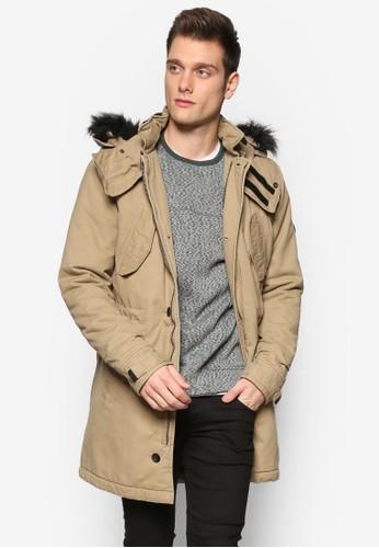 Faux Fur Hooded Paresprit門市ka, 韓系時尚, 梳妝