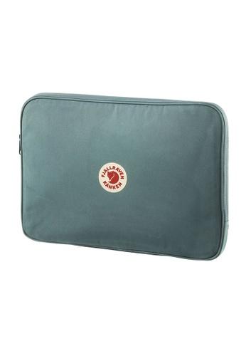 "Fjallraven green Fjällräven Kanken Laptop Case 15"" Frost Green 35F1AAC84BBA09GS_1"