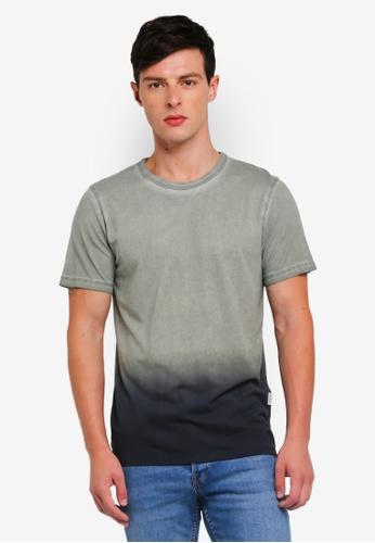 Jack & Jones 綠色 短袖T恤 933FCAA05DA04FGS_1