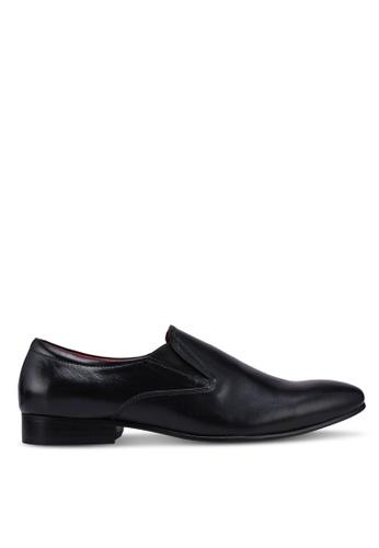 ACUTO black Leather Business Shoes A069FSH00E1291GS_1
