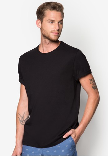 捲袖圓領TEE, 服飾, 素色Tesprit童裝門市恤