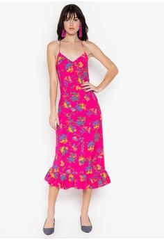 abbab2a8bfd TOPSHOP pink Bright Floral Print Slip Dress 0AE72AA788B58BGS 1