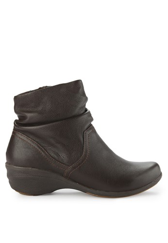 Hush Puppies brown Arabell Mid Boot 818B7SHDCE0E3BGS_1