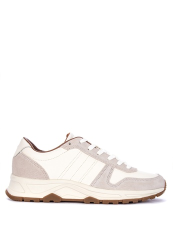 Tommy Hilfiger white Leather Lighweight Runner Sneakers FBE00SH29AC80FGS_1