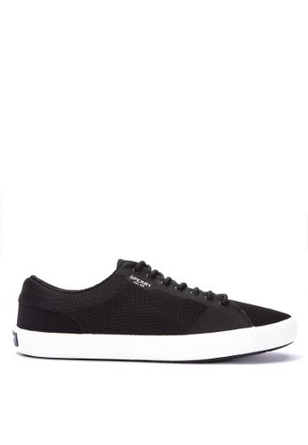 Sperry black Flex Deck LTT Mesh Sneakers BBDCBSH799EAB3GS_1