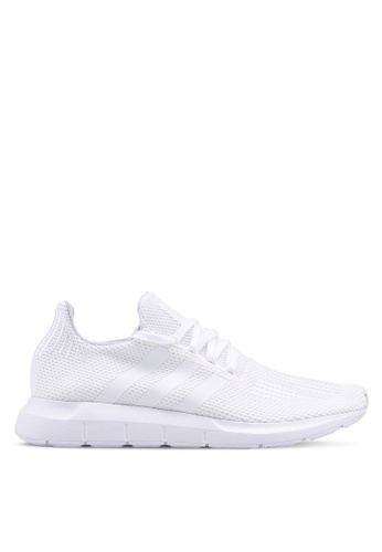 d32803b23e99c adidas white adidas originals Swift Run Sneakers D2D04SHFC9E159GS 1