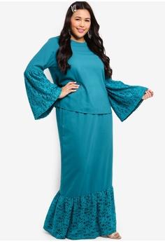 23f13b8da69 49% OFF Lubna Flare Lace Sleeve Kurung S  99.90 NOW S  50.90 Sizes XXL XXXL  XXXXL XXXXXL