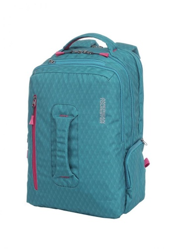 159aa4244 American Tourister green American Tourister Acro+ Backpack 02 A  13C62AC90CA2F1GS_1