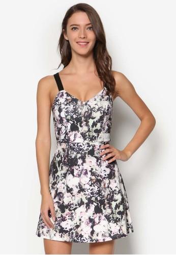細肩esprit tst帶印花洋裝, 服飾, 洋裝