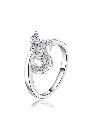 Tiaria white Tiaria Gold Plated Ring Casual Fashion SPCR498-7--K09 6E85FACB05044FGS_1