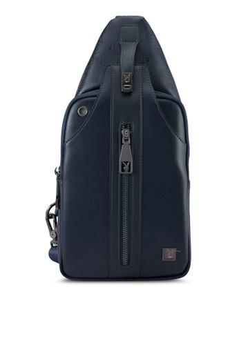 Playboy blue Playboy Chest Bag PL371AC0SK1XMY_1