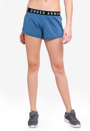 Under Armour blue Favorite Loose Shorts BDA0DAA9C574C4GS_1
