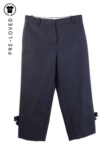 Louis Vuitton black Pre-Loved louis vuitton Wool Cropped Pants 255D4AAE3C908EGS_1