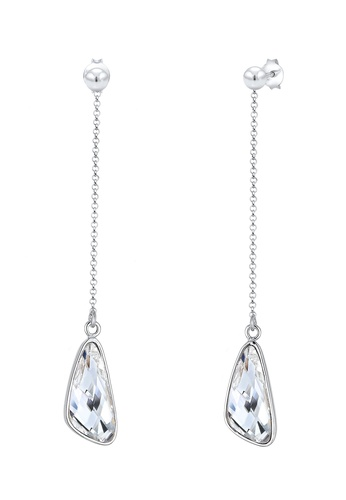 64c4ffea4 Elli Germany silver Elli Germany Earrings Dangle Drop Swarovski Crystals  925 Sterling Silver 0967DACDAF85EFGS_1