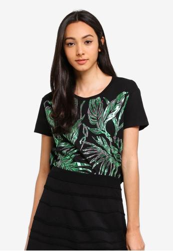 Sisley multi Printed T-shirt 1038DAA53BE10AGS_1