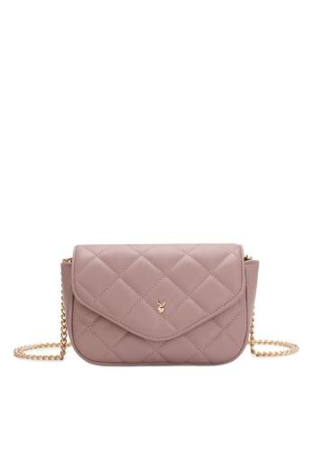 PLAYBOY BUNNY pink Women's Sling Bag / Shoulder Bag / Crossbody Bag 5F570ACE72D05BGS_1