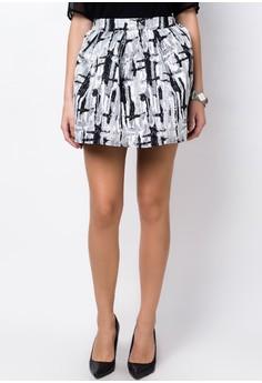 Abstract Skirt
