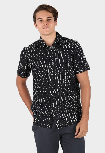 Volcom black MSH DRAG DOT BLK 744C6AA4415704GS_1